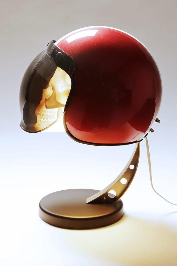 lampe bubble gustave casque moto syma design