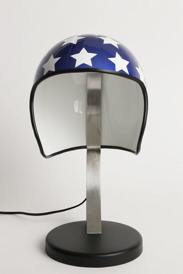 lampe easy rider casque moto syma design