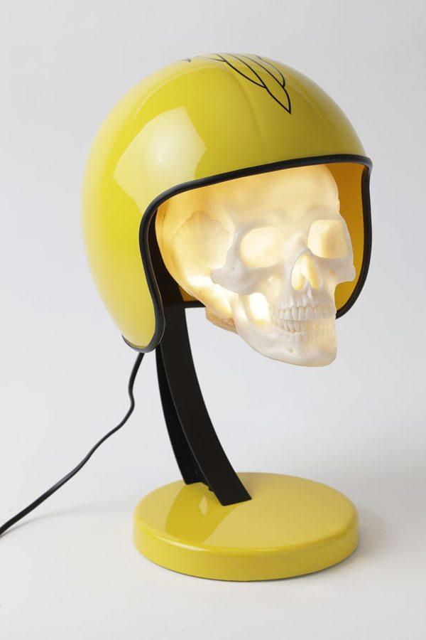 lampe pinstriping casque moto syma design
