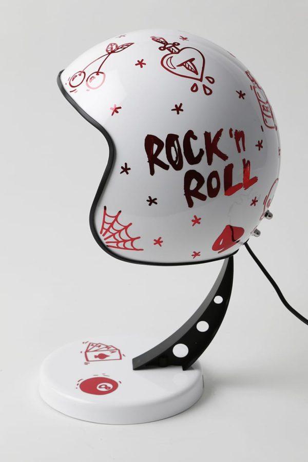 lampe tattoo casque moto syma design